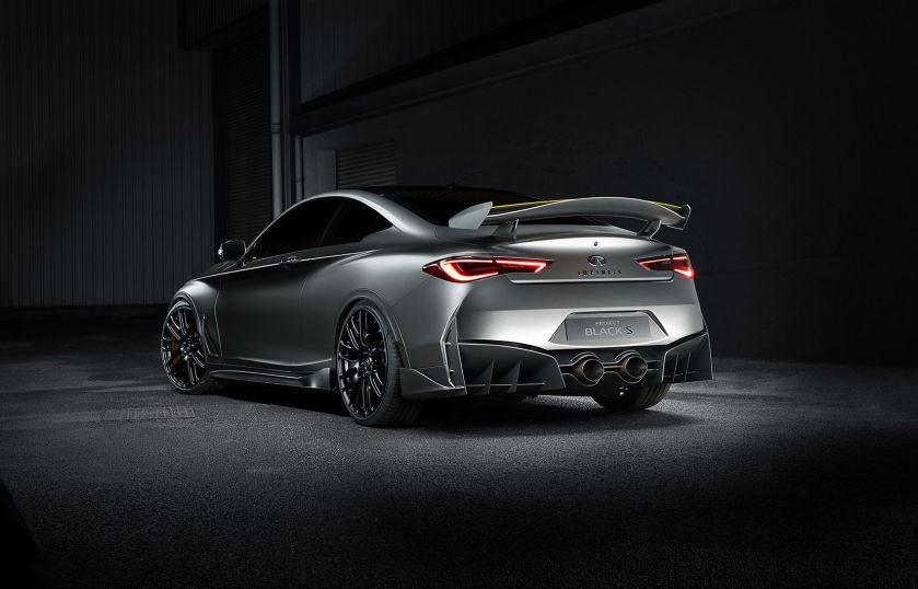 Infinity - Q60 Project Black S