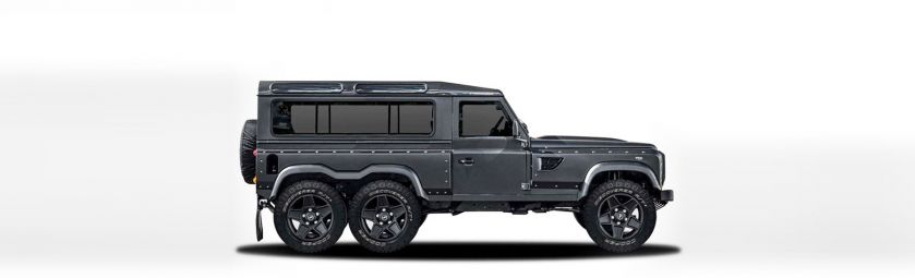 land rover - defender 6x6